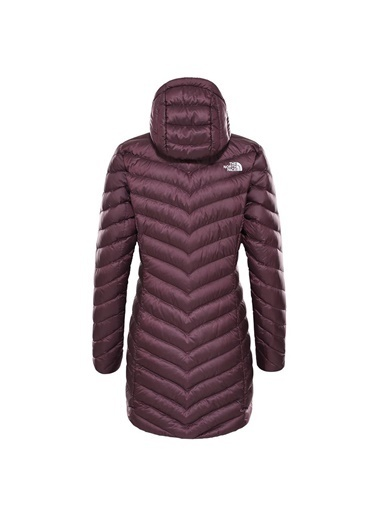 The North Face Trevail Parka Kadın Mont Bordo Mor